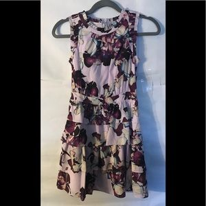 BANANA REPUBLIC SLEEVELESS PURPLE DRESS Size 0P